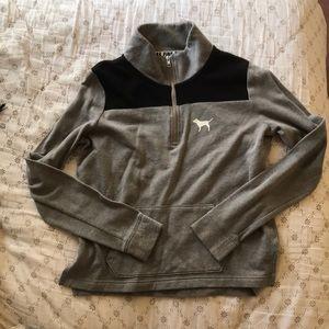 Pink gray jacket